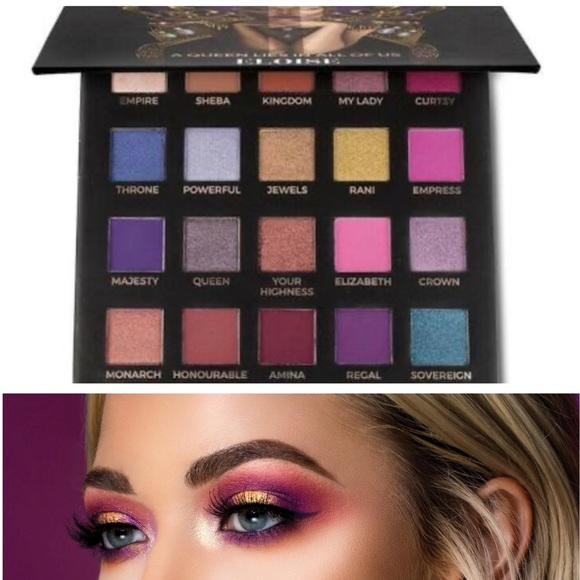 Sephora Other - 🆕Eloise The Queen Vibrant Colorful Makeup Pallet